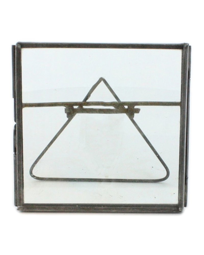 HomArt Pierre Easel Frame 4x4 Zinc