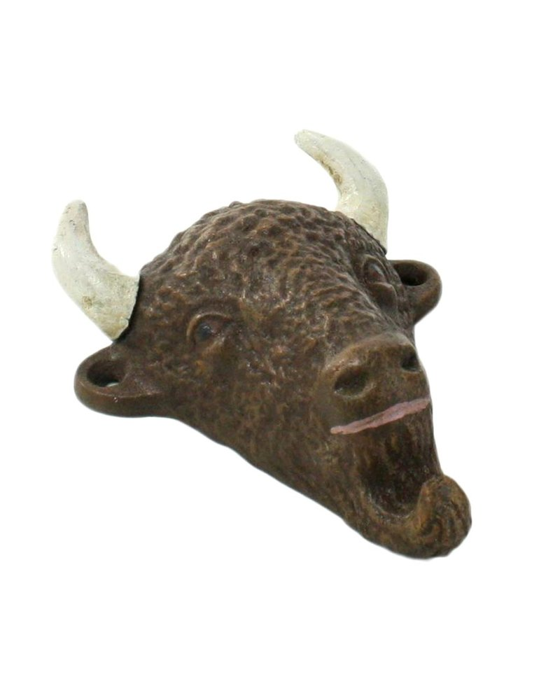 HomArt Buffalo HomArt Cast Iron Bottle Opener