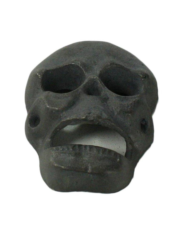 HomArt Skull HomArt Cast Iron Bottle Opener Natural