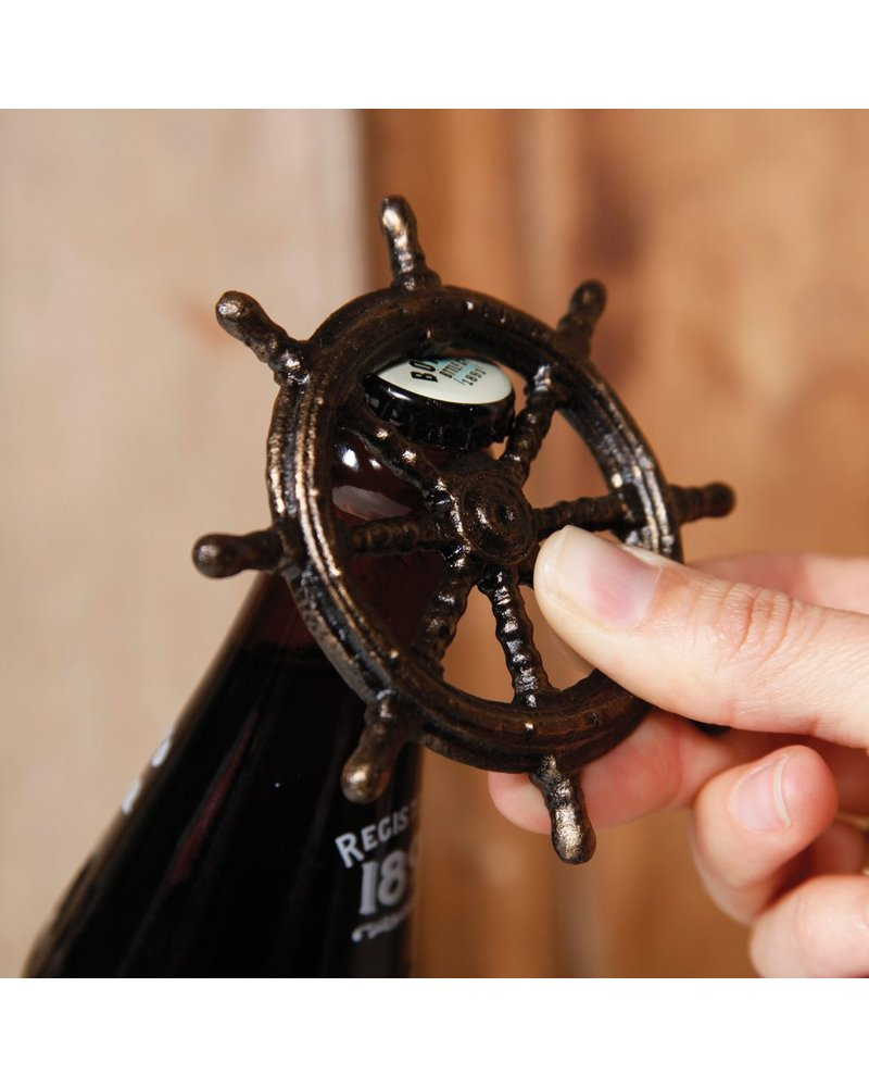 HomArt Ships Wheel HomArt Cast Iron Bottle Opener