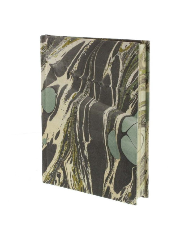 HomArt Marbleized Paper Journal-Aqua