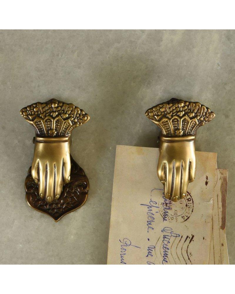 HomArt Brass Hand Clip - Sm