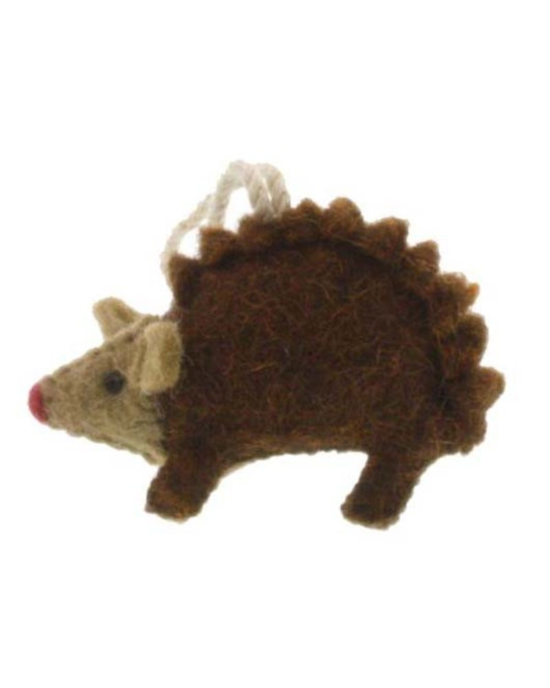 HomArt Felt Hedgehog Ornament