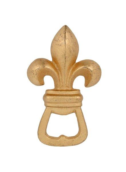 HomArt Fleur De Lys HomArt Bottle Opener Gold - Set of 2