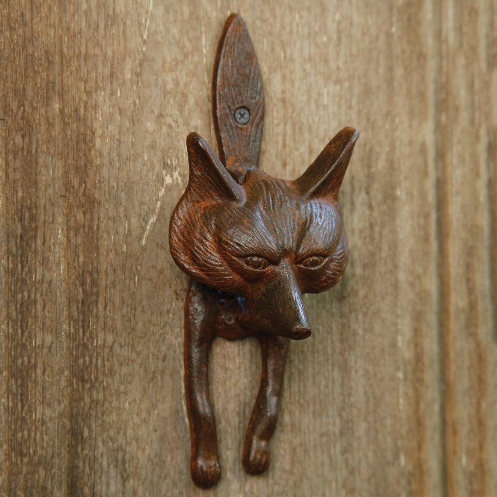 Cast Iron Fox Door Knocker