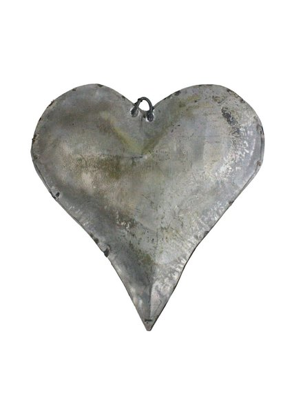 HomArt Tin Man's Heart Galvanized - Set of 2