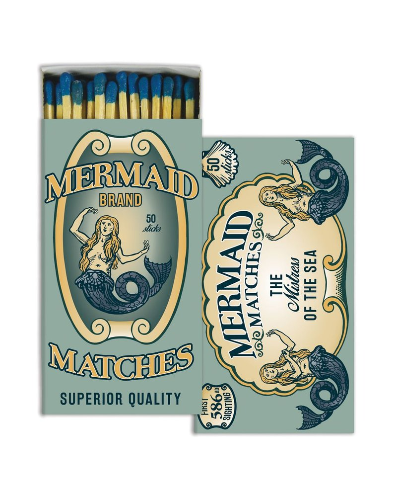 HomArt Mermaid Brand HomArt Matches - Set of 3 Boxes
