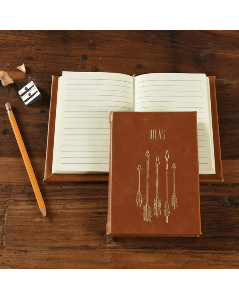 HomArt Embossed Durable Faux Leather Journal - Ideas