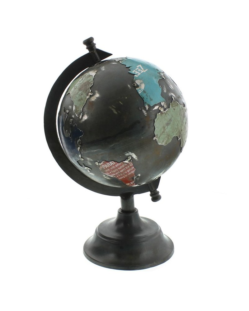 HomArt Reclaimed Metal Globe - Sm