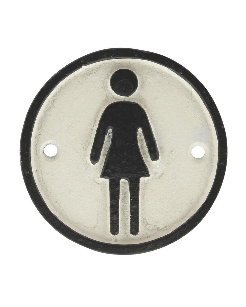 HomArt Cast Iron Sign - Woman