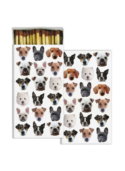 HomArt Dog Squad HomArt Matches Set of 3 Boxes