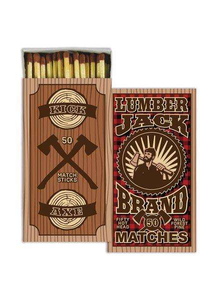 HomArt Lumberjack HomArt Matches Set of 3 Boxes