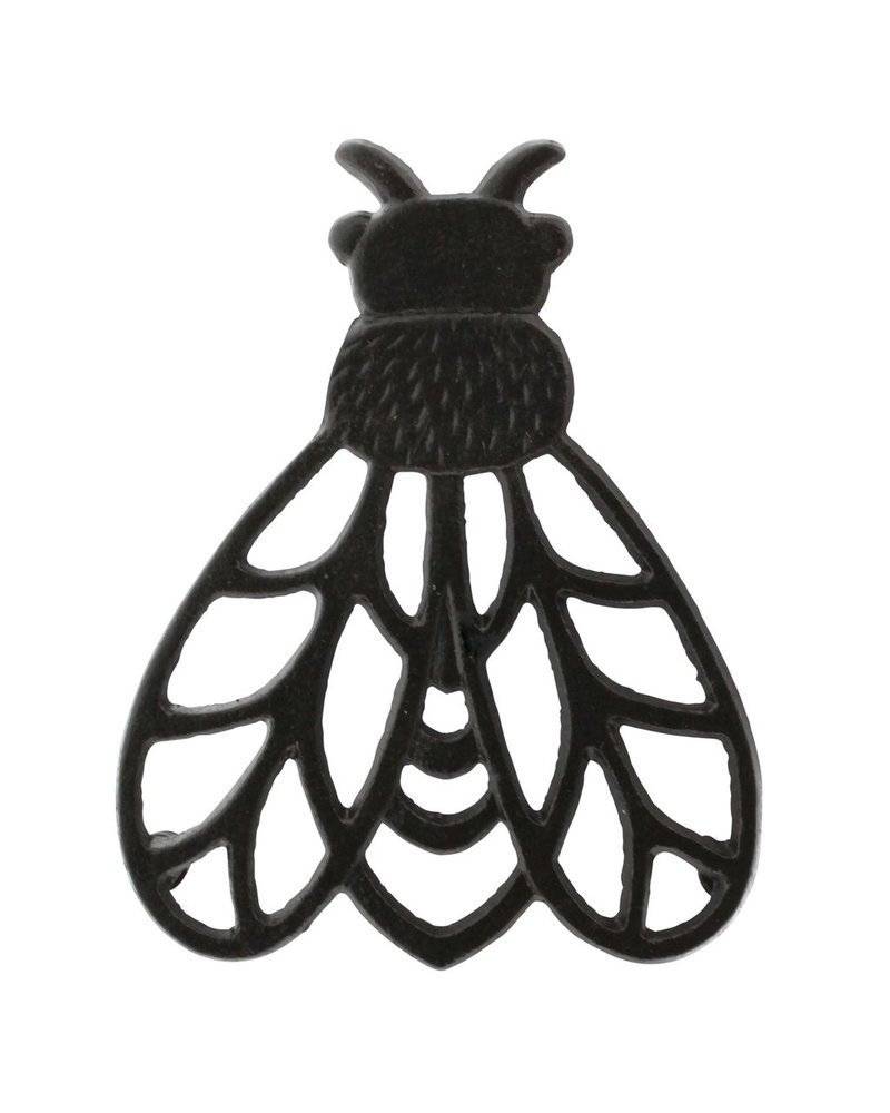HomArt Cast Iron Bee Trivet - Set of 2