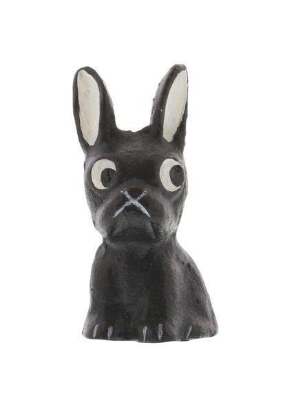 HomArt Tonka the Frenchie - Cast Iron Dog - Set of 2