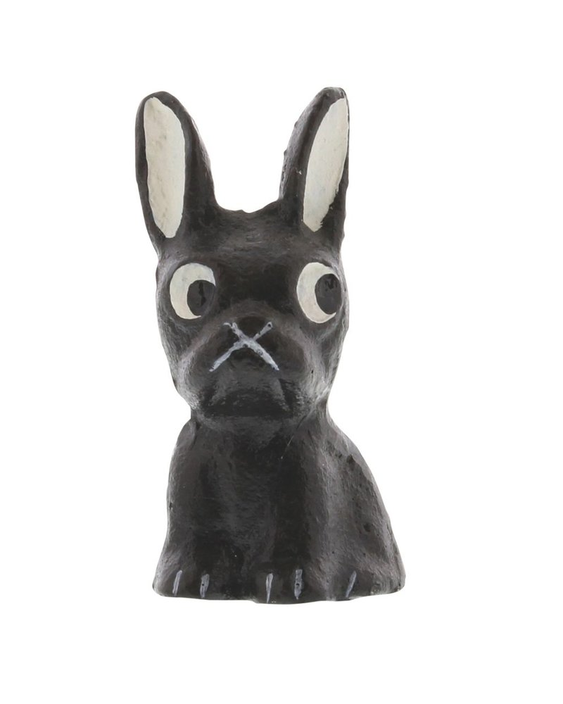 HomArt Tonka the Frenchie - Cast Iron Dog - Set of 2