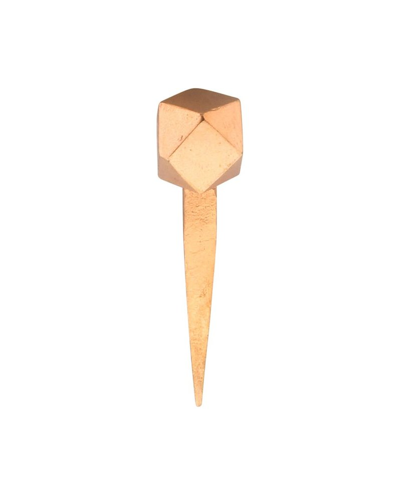 HomArt Copper Cubeoctahedron HomArt Forged Utility Iron Nail - Set of 4