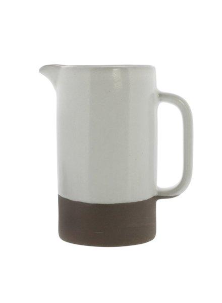 HomArt Liam Ceramic Pitcher - Small - Unglazed Bottom