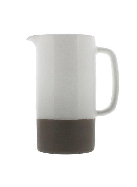 HomArt Liam Ceramic Pitcher - Large - Unglazed Bottom