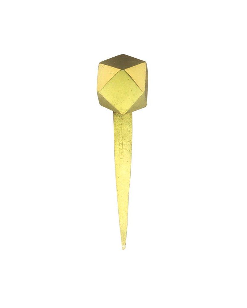 HomArt Brass Cubeoctahedron HomArt Forged Utility Iron Nail - Set of 4