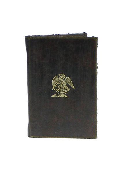 HomArt Royal Embossed Journal - Eagle - Brown