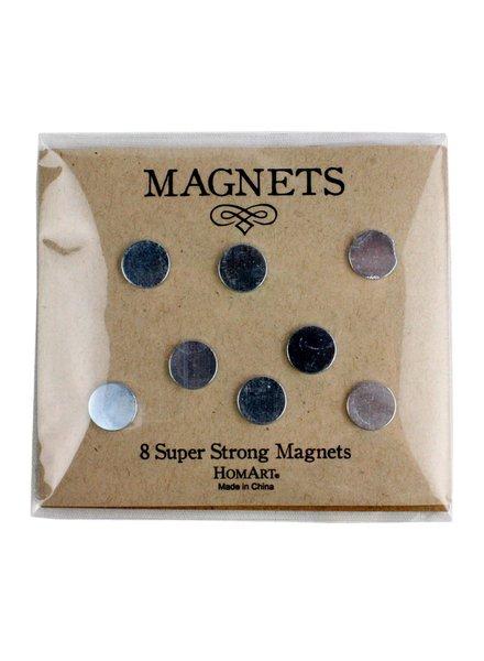 HomArt Super Strong Magnets - 8 Pack - Set of 2