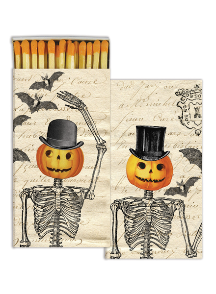 HomArt Pumpkin Heads HomArt Matches - Set of 3 Boxes