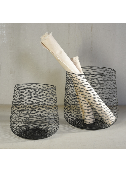 HomArt Claus Wire Baskets - Set of 2