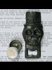 HomArt Jose Skull HomArt Cast Iron Bottle Opener - Set of 2