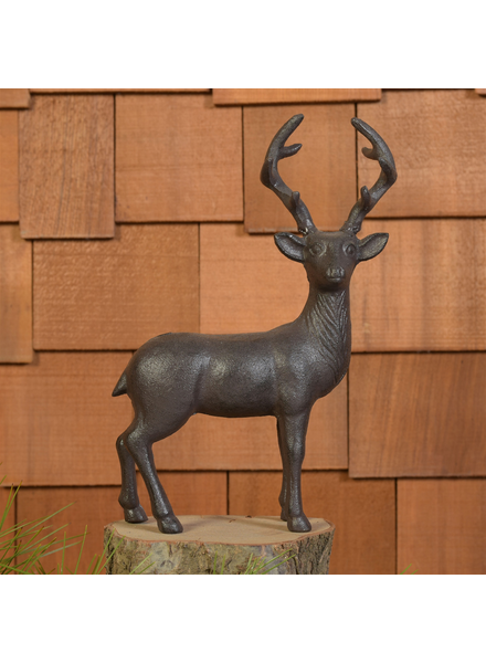 HomArt Stag, Cast Iron - Brown