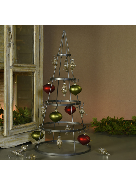 HomArt Tree Ornament Display, Zinc