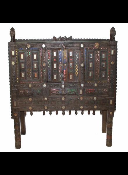 Vintage Indian Damchiya - Large Detailed