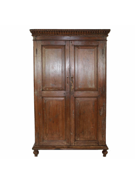 Light Wood Indian Armoire