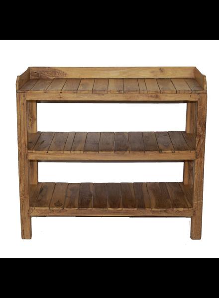 Indian Wood Shelf