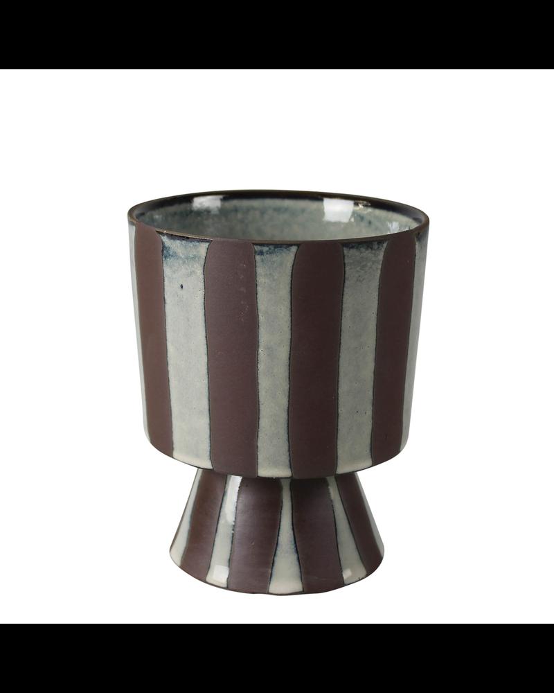 HomArt Kanto Chalice Vase Ceramic Sm