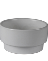 HomArt Issa Stacking Bowl Ceramic White