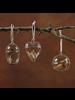HomArt Glass Egg Keepsake Box Ornament - Set of 2