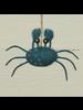 HomArt Crab Ornament, Felt - Blue - Blue