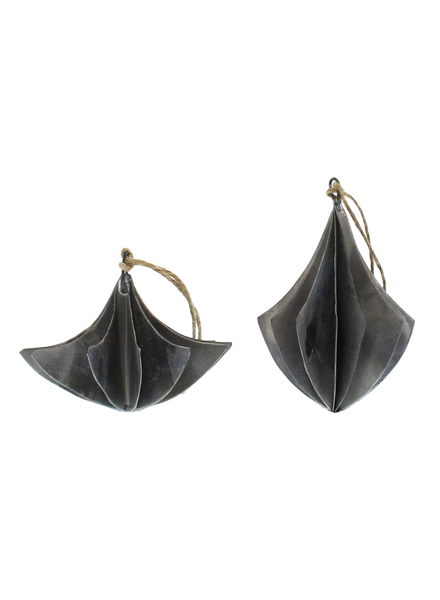 HomArt Zinc Chandeliers Ornament - Set of 2