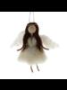 HomArt Felt Angel Ornament - Brunette