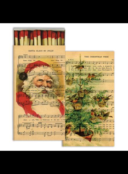 HomArt Holiday Sheet Music HomArt Matches - Set of 3