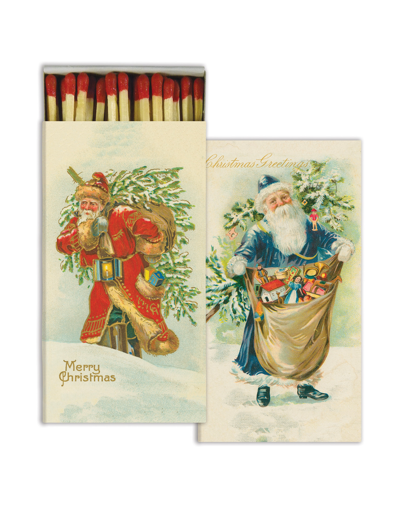 HomArt A Merry Christmas HomArt Matches - Set of 3