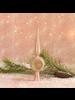 HomArt Kira Tree Topper, Glass - Pink
