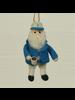 HomArt Captain and Coffee Ornament, Felt - Blue & White