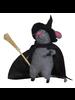 HomArt Felt Witch Mouse Ornament