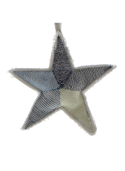 HomArt Canvas Star Ornament - Blues  Blues