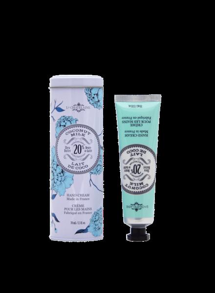 La Chatelaine Coconut Milk 70ml Hand Cream