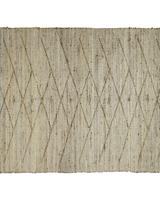 HomArt Malika Rug, Hemp, Natural 4x6