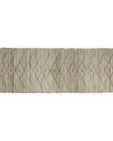 HomArt Malika Rug, Hemp, Natural 2.5x8