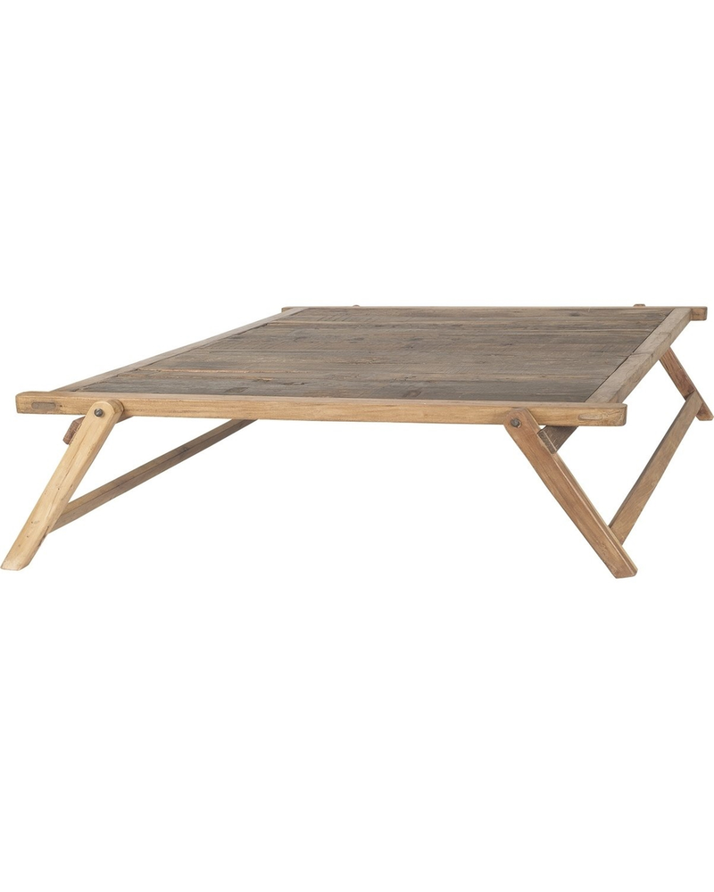 HomArt Folding Coffee Table, Square