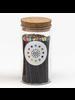 Fredericks & Mae Black + Rainbow Fireplace Matches - Small Jar